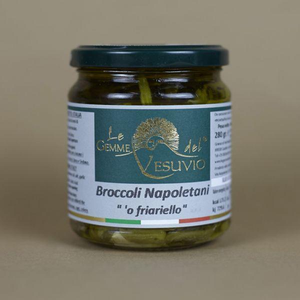 Broccoli in Sonnenblumenöl