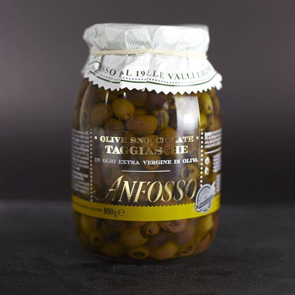Oliven ohne Kern in Olivenöl