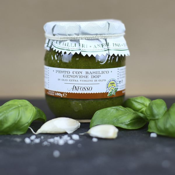 Pesto mit Basilikum