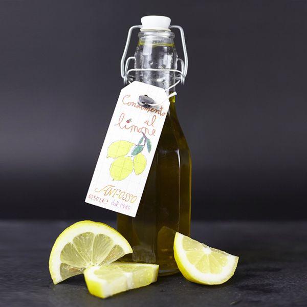 Olivenöl nativ extra mit Zitronen-Aroma